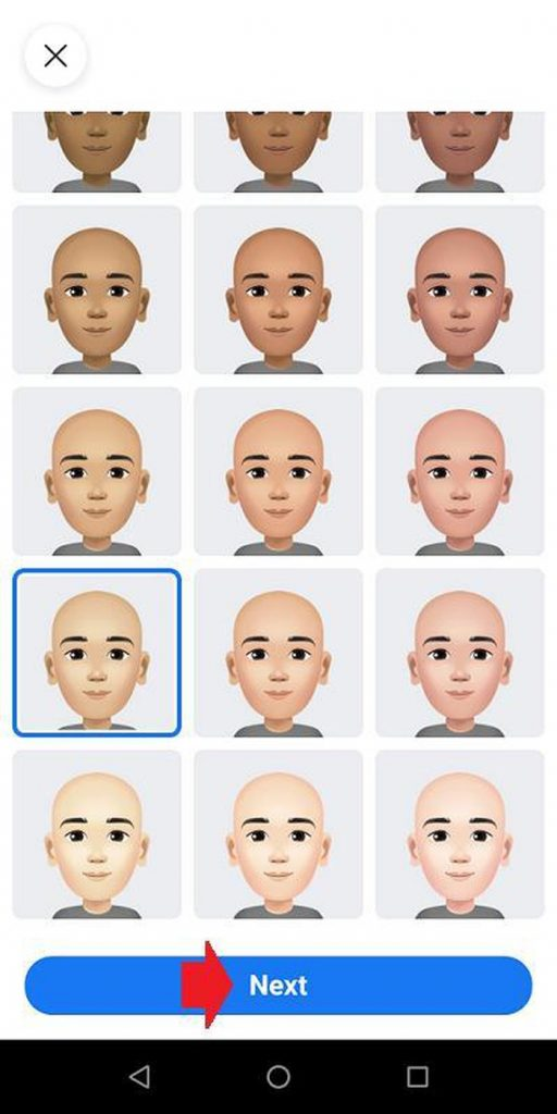 cách tạo Facebook Avatar