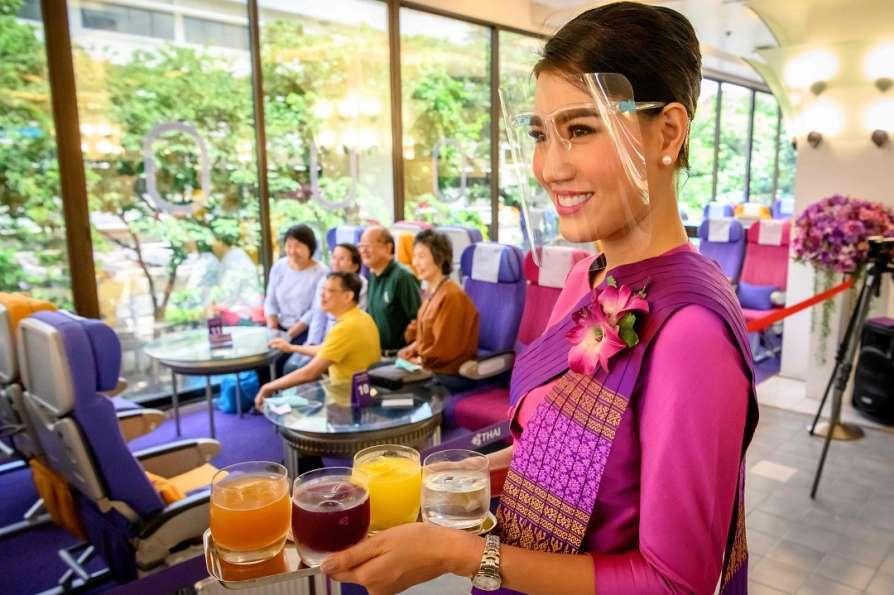 cà phê máy bay