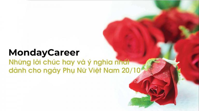 Những lời chúc hay và ý nghĩa nhất dành cho ngày phụ nữ vietnam 20-10