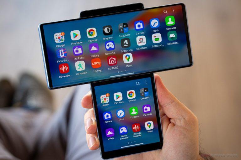 Hình ảnh chiếc điện thoại LG WIN
