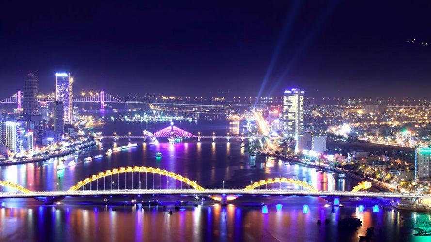 background thành phố đẹp hiện đại đà nẵng