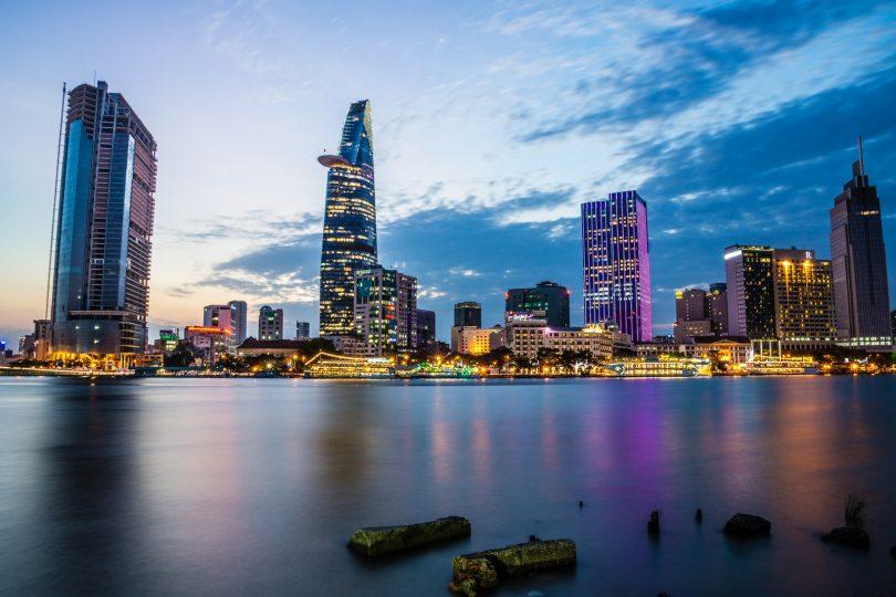 background thành phố đẹp hiện đại brunei