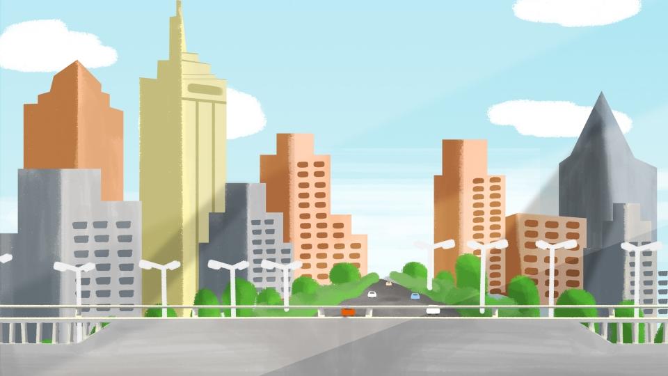 background thành phố đẹp hiện đại châu mỹ