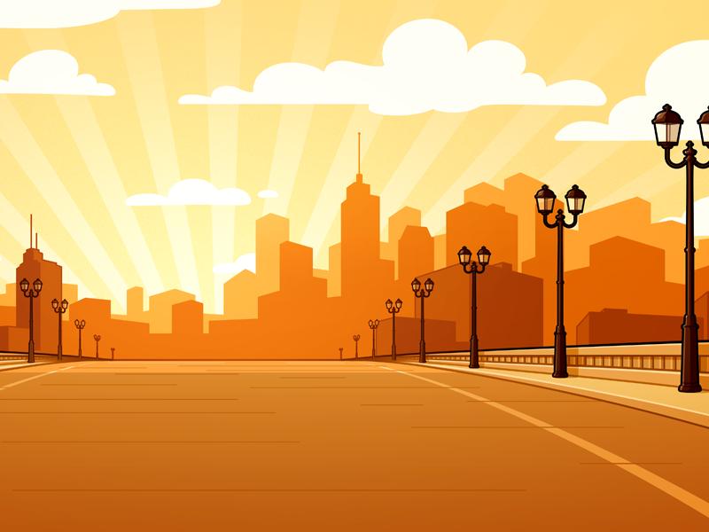 background thành phố đẹp hiện đại nhất
