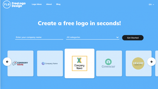 FreeLogoDesign thiết kế logo online