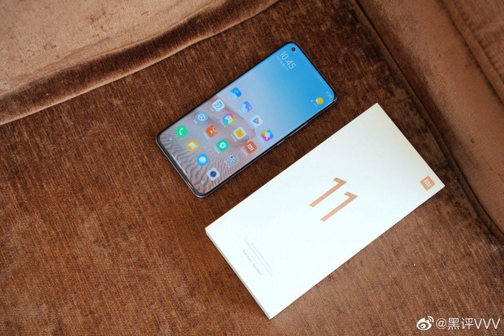 Điện thoại Xiao Mi 11 sắp ra mắt gây sốt