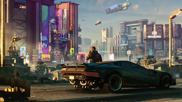 Game viên tưởng thế giới tương lai Cyberpunk 2077