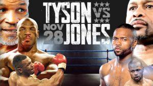 Giữa Mike Tyson (bên trái) và Roy Jones Jr ai xứng đáng vô địch hơn