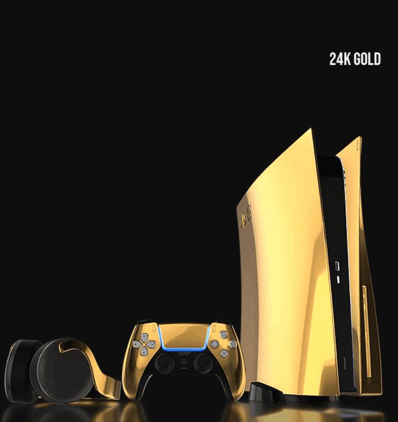 Lóa mắt với phiên bản vàng giới hạn của PS5