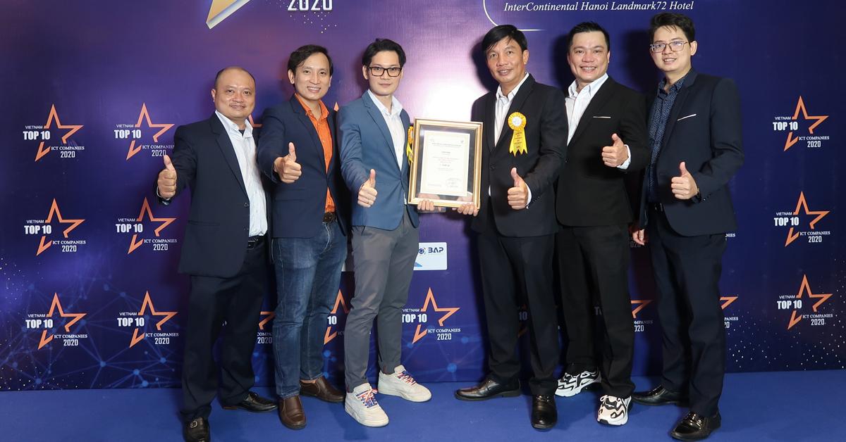 THIENTU - Nhận giải TOP 10 Doanh Nghiệp BPO