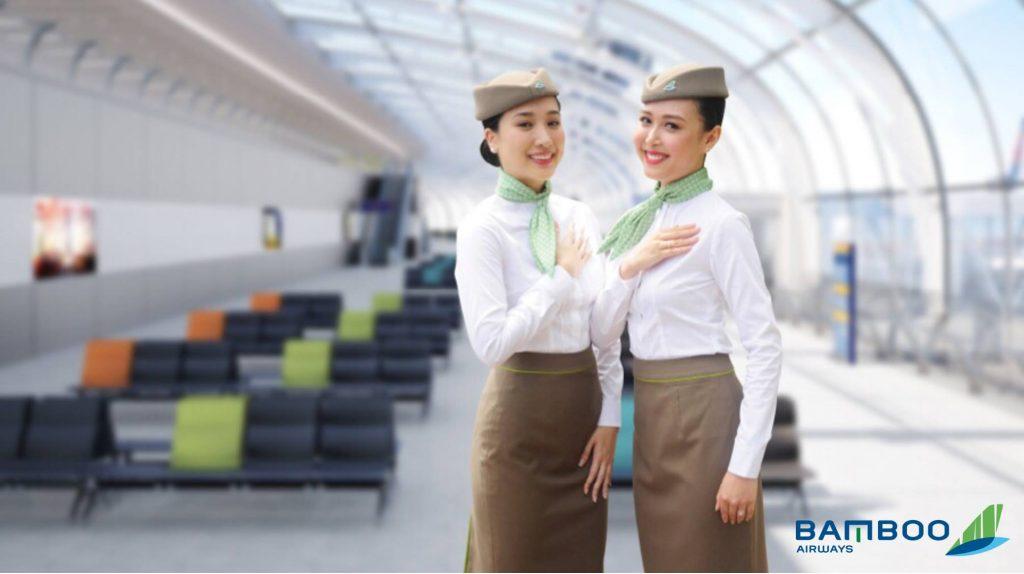 Đội ngũ nhân viên Bamboo Airways tận tình