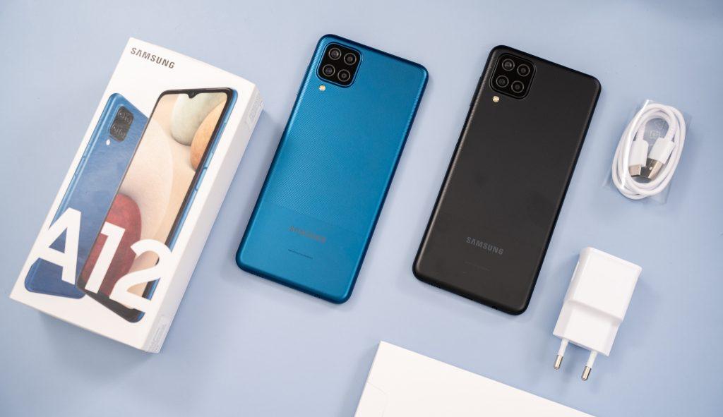 Điện thoại Samsung Galaxy A12 gây sốt với chất lượng khủng và giá phải chăng