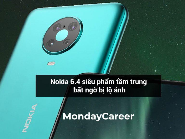 Ảnh siêu phẩm Nokia 6.4