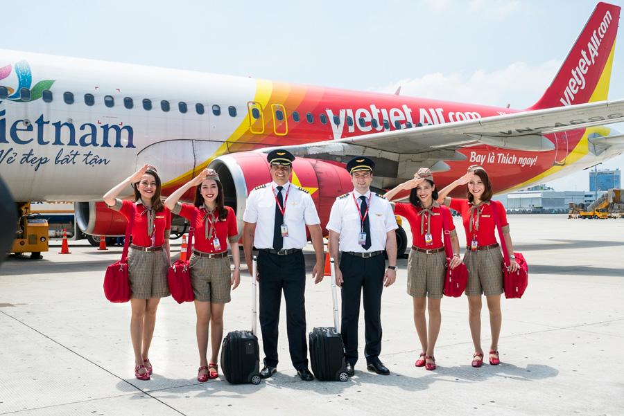 Các hãng bay bao gồm Vietjet được đánh giá cao dựa trên nhiều tiêu chí