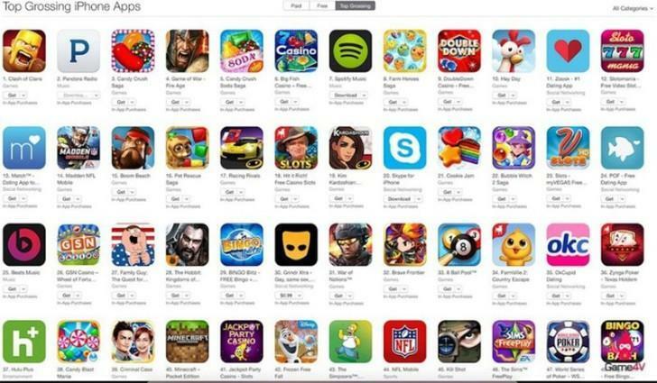Các trò chơi bị loại khỏi App Store Trung QUốc vì chưa có giấy phép