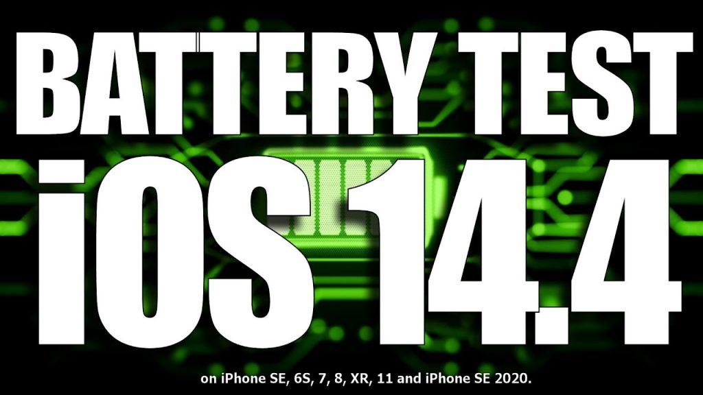 Dòng iphone nào sẽ có độ bền pin tốt nhất khi cập nhật lên ios 14.4