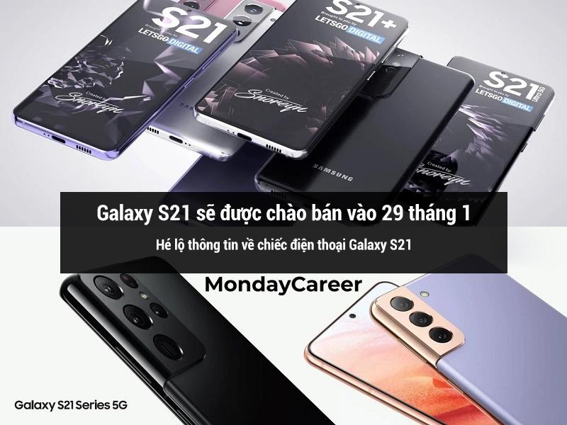 Ngày chào bán của galaxy S21