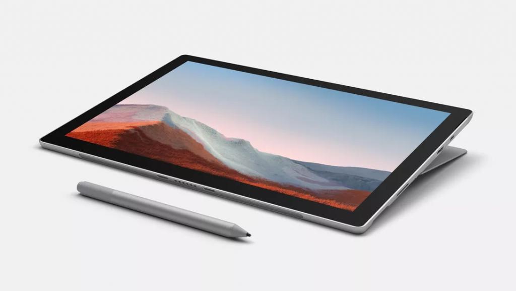Giới công nghệ trầm trồ với Microsoft Surface Pro 7 Plus mới ra mắt tại CES 2021