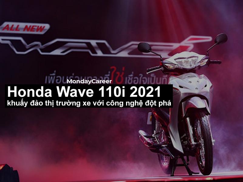 Honda Wave 110i 2021 khuấy đảo thị trường xe với công nghệ đột phá