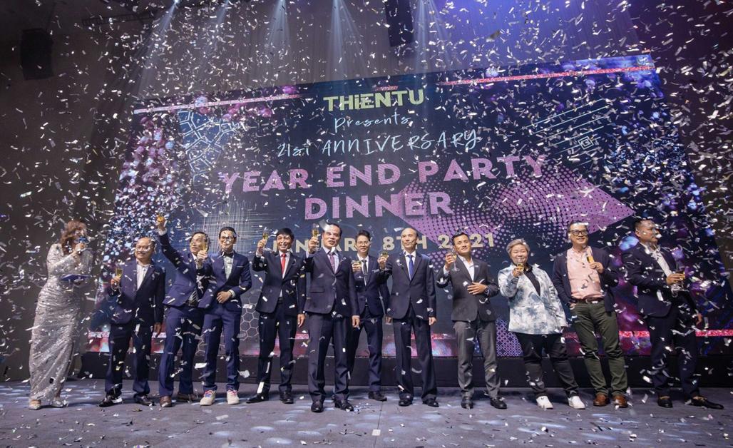 Kỷ niệm 21 năm thành lập công ty Thiên Tú
