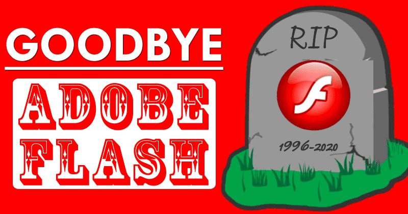 Năm 2020 Adobe chính thức khai tử Flash Player