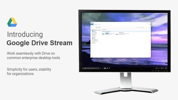 Phiên bản Google Drive File Stream cho máy tính bàn