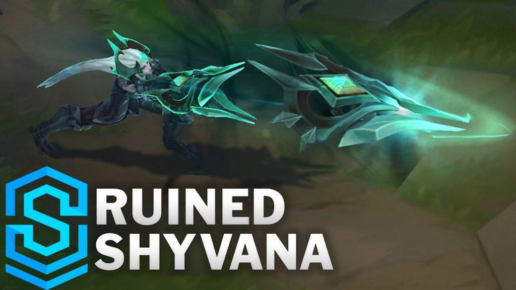 Shyvana Đại Suy Vong của Riot Games