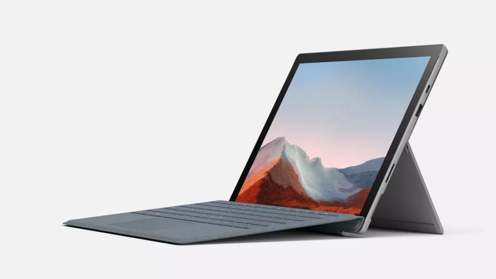 Siêu phẩm Microsoft Surface Pro 7 Plus với thiết kế tinh xảo