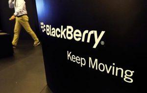 cổ phiếu BlackBerry