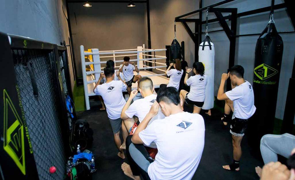 Học boxing E1 Cardio