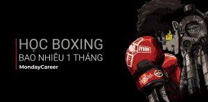 Học boxing bao nhiêu 1 tháng
